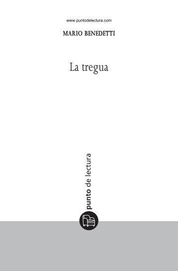 Primeras páginas de  'La tregua' - Prisa Ediciones