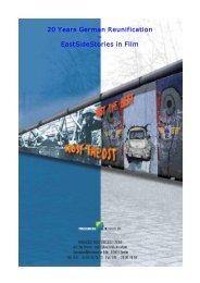 20 Years German Reunification – EastSideStories in Film