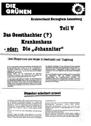 Das Geesthachter (f) - Thomas Wüppesahl