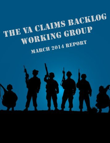 VA Backlog Working Working Group March 2014 Report