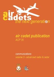 Advanced Radio and Radar - 967 Air Cadets