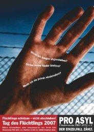 Heft 2007 (pdf) - Pro Asyl
