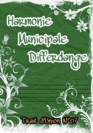 Trait d'union - Harmonie Municipale de la Ville de Differdange