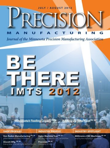 IMTS 2012 - Minnesota Precision Manufacturing Association