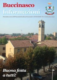 Settembre 2012 - Comune di Buccinasco