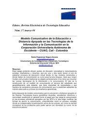 Edutec. Revista Electrónica de Tecnología Educativa Núm. 17 ...
