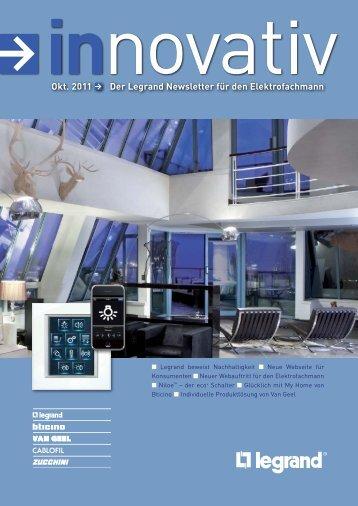 Innovativ Oktober 2011pdf, 3.3 MB - Legrand -  Legrand Austria GmbH