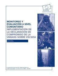 monitoreo y evaluación a nivel comunitario implementación ... - icaso