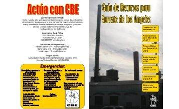 Guía de Recursos para Sureste de Los Angeles - Communities for a ...