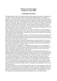 Ordinær generalforsamling torsdag d. 13. marts 2008 Formandens ...