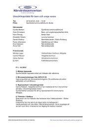 Utvecklingsrådet för barn och unga vuxna - Vgregion.se