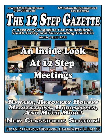 March/April 2011 - 12 Step Gazette