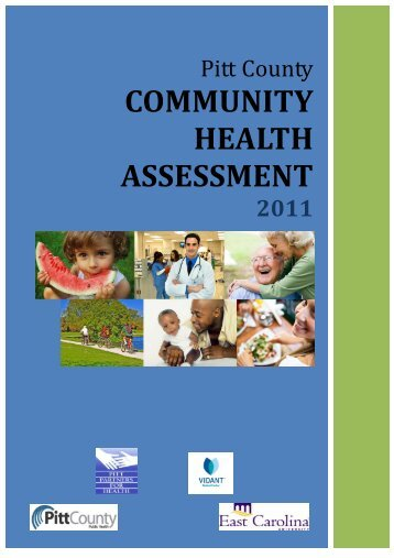 2011 Community Health Assessment - Pitt County Government