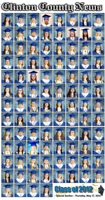 Class of 2012 - Clinton County News