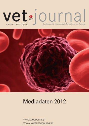 Mediadaten 2012 - Vet Journal