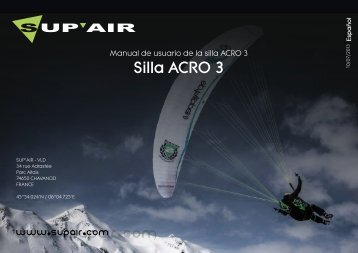 Manual de uso - Sup'Air
