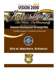 Jonesboro Strategic Plan - City of Jonesboro