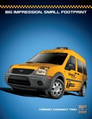 taXi - Ford Fleet