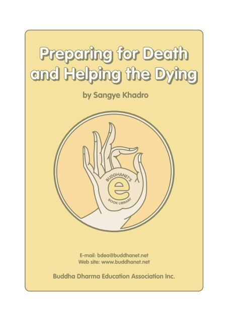 Preparing for Death & Helping the Dying - Urban Dharma