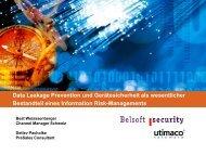 Device Verschlüsselung und Data Leakage Prevention Lösungen