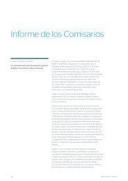 Informe de los Comisarios - BBVA Banco Provincial