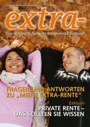 meine extra-rente - DBV-Winterthur