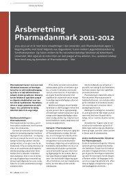 Årsberetning Pharmadanmark 2011-2012