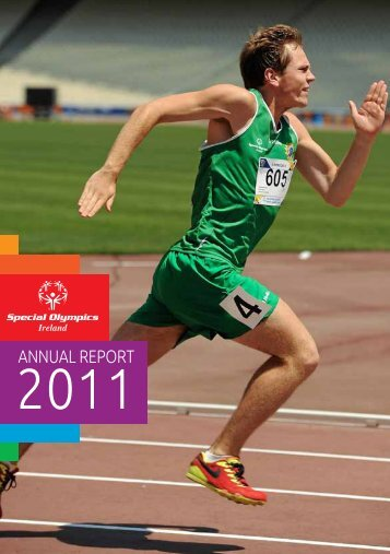2011 annual report - Special Olympics Ireland