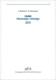 Update Hämatologie / Onkologie 2011