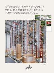 Effizienzsteigerung in der Fertigung  von Küchenmöbeln ... - psb GmbH
