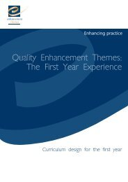 QAA 218 Curriculum design.qxd - the Enhancement Themes website