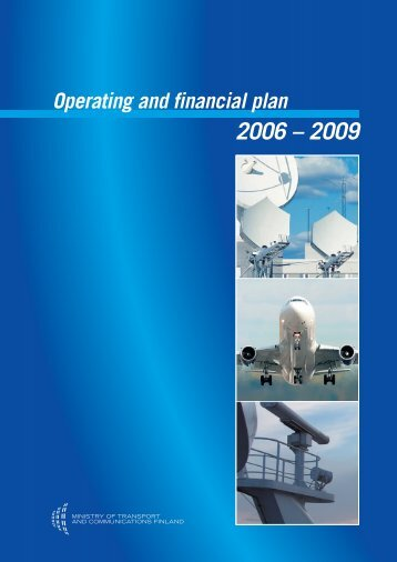Operating and financial plan 2006-2009