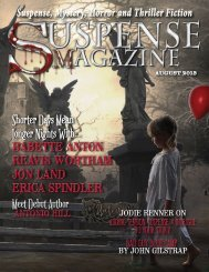 Suspense Magazine August 2013