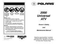 warning - Polaris