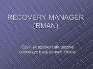 RECOVERY MANAGER (RMAN)