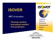 Isover_Air borne sound insulation - Staic.com.jo