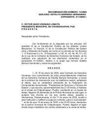 13/2006 quejoso: estelita barrera hernandez expediente: 411/2006 ...