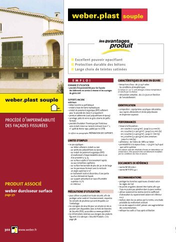 weber•plast souple