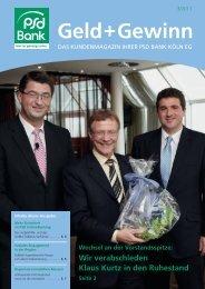 Geld + Gewinn - PSD Bank Köln eG