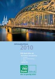 Aktivseite - PSD Bank Köln eG