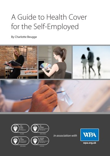 A Guide to Health Cover for the Self-Employed - WPA