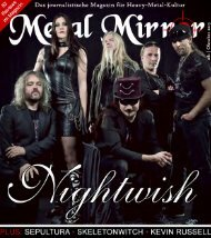 METAL MIRROR #81 - Nightwish, Kevin Russell, Sepultura, Mayfair ...