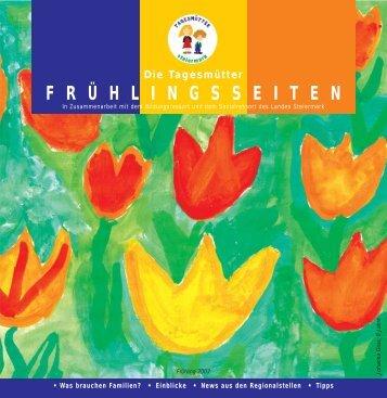 Frühlingsseiten 2007 - Tagesmütter Steiermark