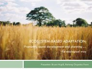 EbA 1 - Regional Climate Change Adaptation Knowledge Platform ...