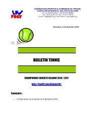 Bulletin n°2 - FSGT 92
