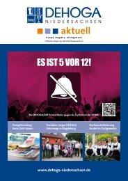 DEHOGA Magazin Nr. 4 Juli/August 2012 - DEHOGA Niedersachsen