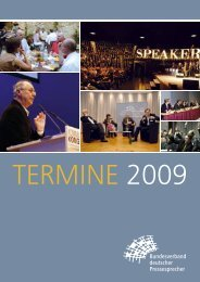 kongress2009 - Bundesverband deutscher Pressesprecher eV