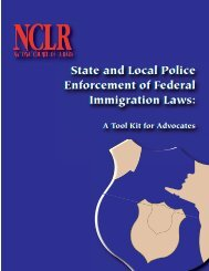 State and Local Police Enforcement of Federal Immigration Laws ...