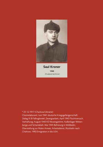 Saul Kroner