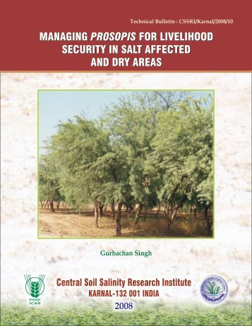 details - Central Soil Salinity Research Institute
